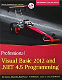 Professional Visual Basic 2012 and .NET 4.5 Programming, Bill Sheldon and Billy Hollis, 111831445X