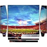 College Football Stadiums Playstation 3 & PS3 Slim Vinyl Decal Sticker Skin by Compass Litho