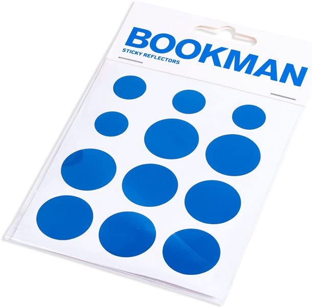 Bookman Reflectantes Pegatinas Sticky Reflectors