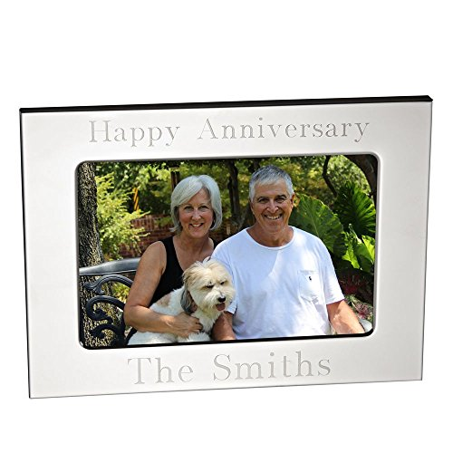 Personalized silverplate Picture Frame (5x7 Landscape)