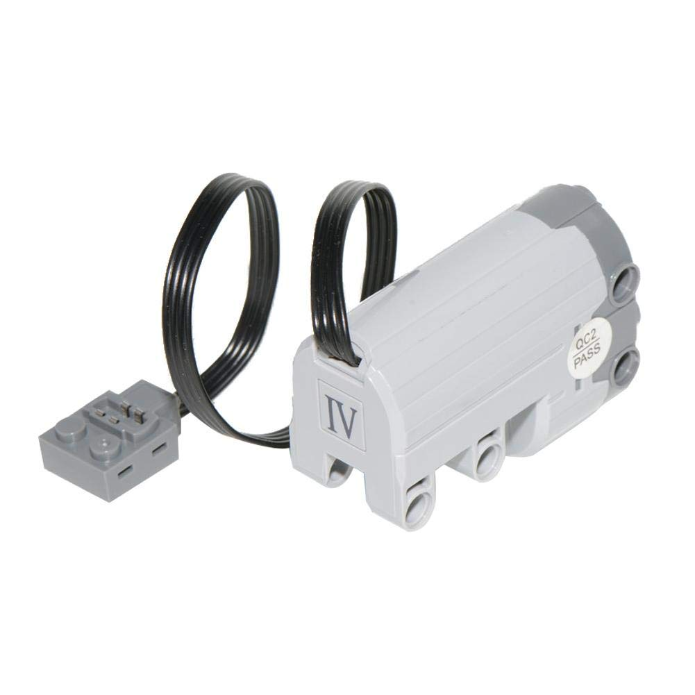Compatible with Lego 88004 Steering Motor 50g(Without Power Function Battery Case) Plug-in Module for Servo Motor Components Luckycyc Power Function Servo Motor