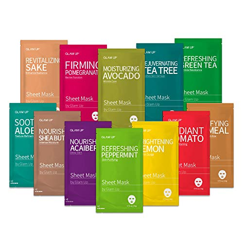 Sheet mask by Glam Up Facial Sheet Mask BTS Combo-The Ultimate Supreme Collection for Every Skin