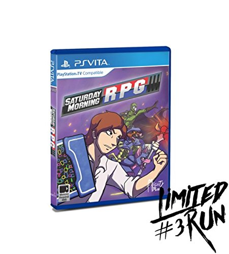 Saturday Morning RPG - Playstation Vita by Limited Run Games