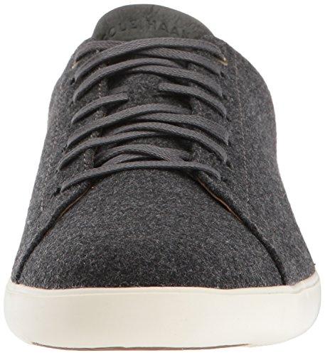 Cole Haan Mens Grand Crosscourt Ii Sneaker Grigio Gessato Lana / Avorio