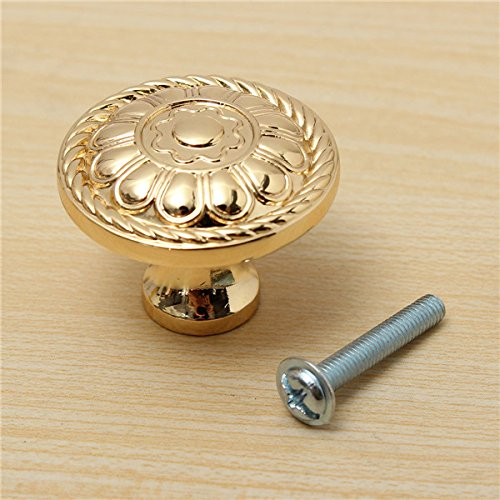 29mm-gold-cabinet-cupboard-drawer-pull-handle-knobs-zinc-alloy-with-screw