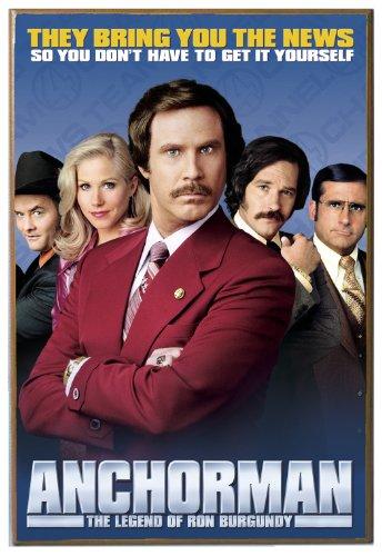 Silver Buffalo AM0536 Anchorman Movie Poster Wood Wall De...