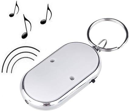Portachiavi led trova sonoro con chiavi key finder au