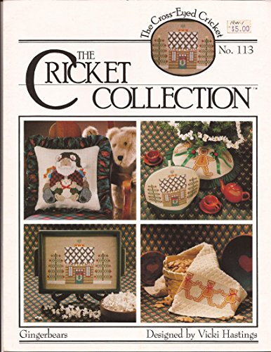 The Cricket Collection: Gingerbears - The Cross-Eyed Cricket Cross Stitch Leaflet No. 113