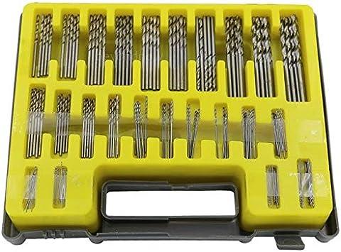 Caja de taladro pequeña (plata, 200 x 160 x 37 mm, 150 unidades): Amazon.es: Bricolaje y herramientas