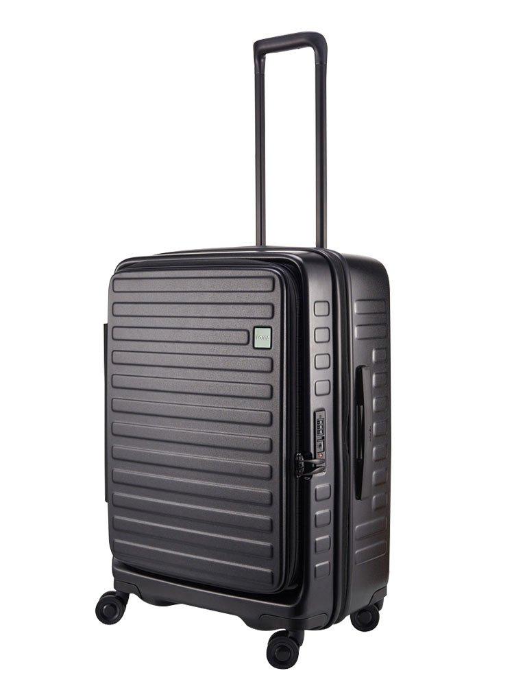 (ロジェール) LOJEL スーツケース CUBO-M 62cm B0744HLCHW ブラック ブラック