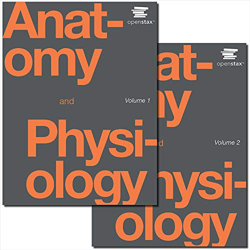 Anatomy and Physiology by OpenStax (paperback version, B&W, cover may vary)
