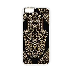 "DDOUGS Hamsa Hand Custom Cell Phone Case for Iphone6 Plus 5.5"", Customised Hamsa Hand Case"