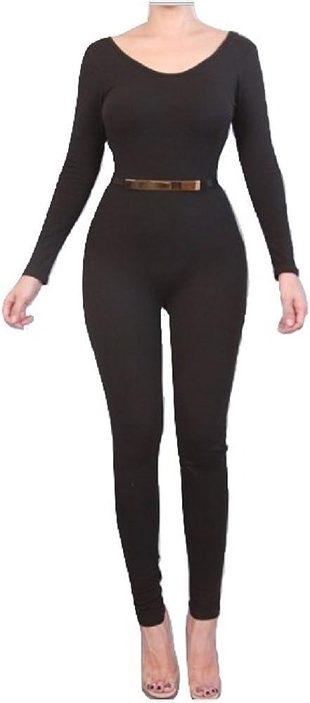 Prima DND Skinny Tank Full Cotton Jumpsuit Catsuit
