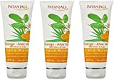 PATANJALI Face Wash - Orange And Aloevera (60g) (Pack of 3)