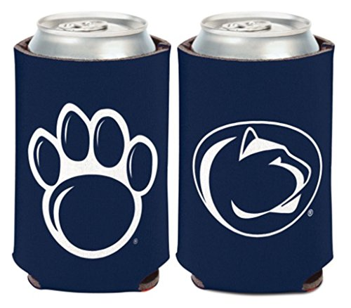 WinCraft NCAA Penn State University Nittany Lions 1 Pack 12 oz. 2-Sided Can Cooler