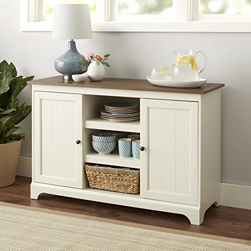 """Better Homes and Gardens Kipling Credenza, Accommodates TVs up to 60"""" and 50 pounds or less. from Better Homes & Gardens"""