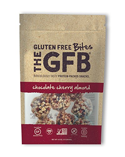 (The GFB Protein Bites, Chocolate Cherry Almond, 4 Ounce (Pack of 6), Gluten Free, Non GMO )