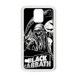 Black Sabbath Samsung Galaxy S5 Cell Phone Case White JU0051994