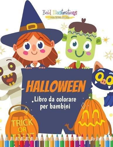 Halloween : Libro da colorare per bambini (Italian -