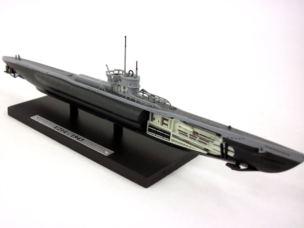 German Type VII Submarine U-214 1/350 Scale Diecast Metal Model