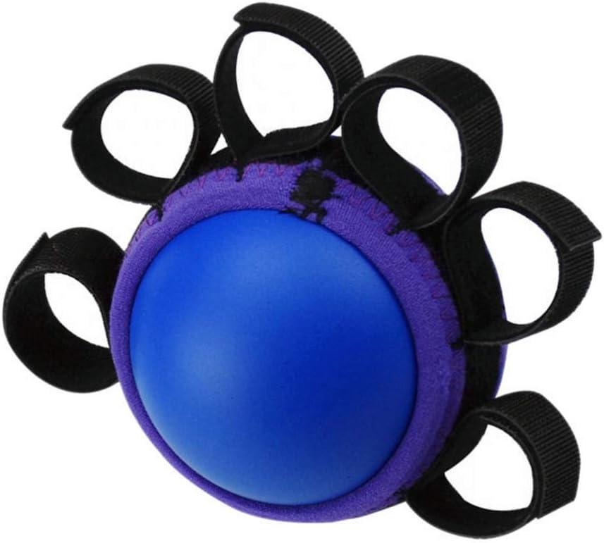 HEALLILY Ejercicio balón con la Mano la Mano Ascendente Dedo ortesis PU Bolas Anti-espasticidad Bolas de Agarre Suave Lenta
