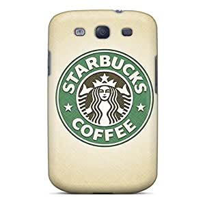 Hot Starbucks Logo First Grade Tpu Phone Case For Galaxy S3 Case Cover
