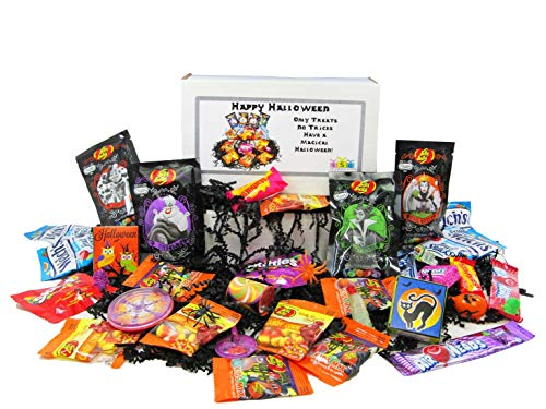 HAPPY HALLOWEEN - Only Treats No Tricks Gift Box (Gourmet Treat Box)