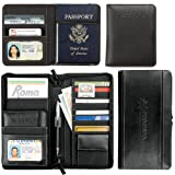 Metropolitian Deluxe Travel Wallet black 1100-65BK