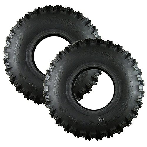 Set Of 2 Honda OEM Snow Blower Tire 14X4.00X6 42751-V41-003