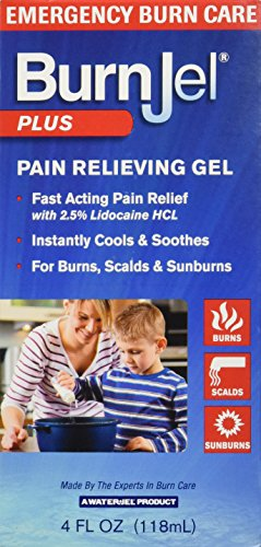 Burn Jel Plus Pain Relieving Gel, 4 Ounce