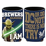 MLB Milwaukee Brewers Star Wars Yoda Can Cooler