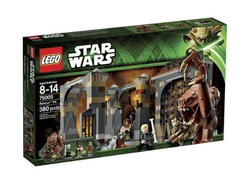 Game / Play LEGO Star Wars Rancor Pit 75005. Minifigure, Playset, Collectible, Toys, Characters Toy / Child / - Wars Set Star Pit Rancor Lego