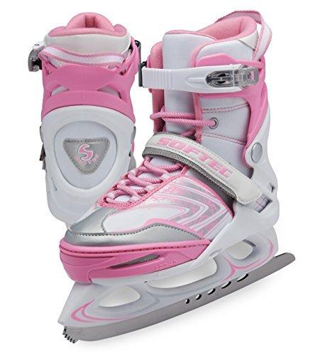 Jackson Ultima Softec Xp1000 Pink Width Medium Size M - Jackson Ice Softec Skates