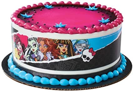 Awe Inspiring Amazon Com 1 X Monster High Designer Prints Edible Cake Image Funny Birthday Cards Online Alyptdamsfinfo