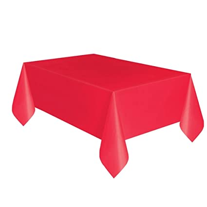 sc 1 st  Amazon.com & Amazon.com: Red Plastic Tablecloth 108\