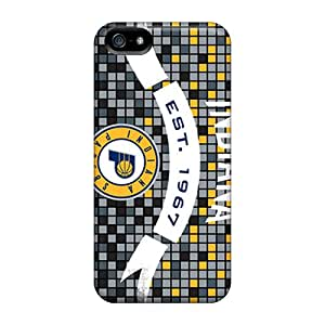 Iphone 5/5s Case Cover Skin : Premium High Quality Indiana Pacers Case