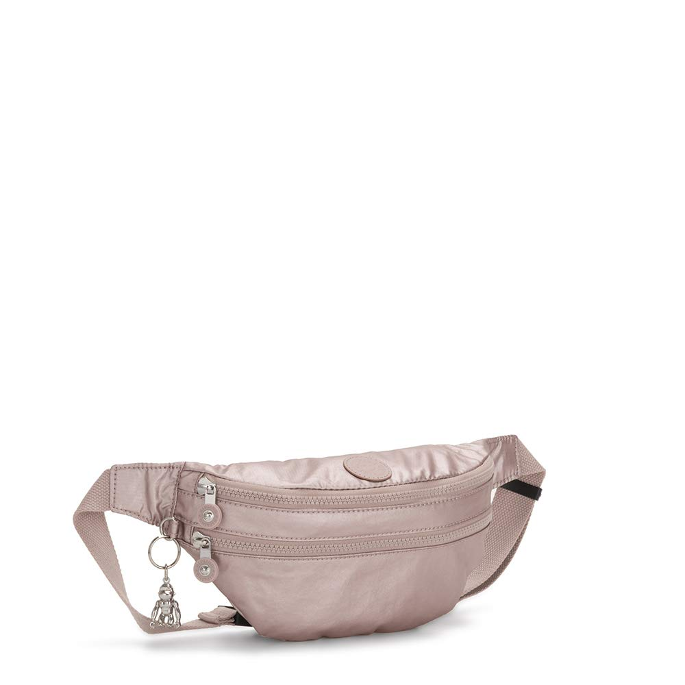 Kipling Sara Metallic Rose Rose Sac Banane Moyen Convertible en sac /à Bandouli/ère