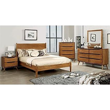 Furniture Of America Farrah King Bed In Oak