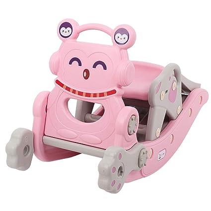 Rocking Horse Slide Juguetes Infantiles para bebés Dos en un ...