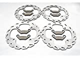 Polaris 850 Sportsman XP Front and Rear Brakes Sport Brake Rotors and Brake Pads