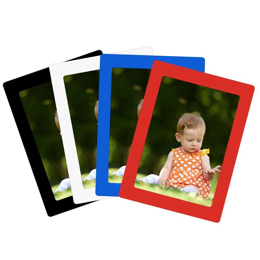 DAZZILYN Practical Single Layer Magnetic Photo Frame for Refrigerator for Wall