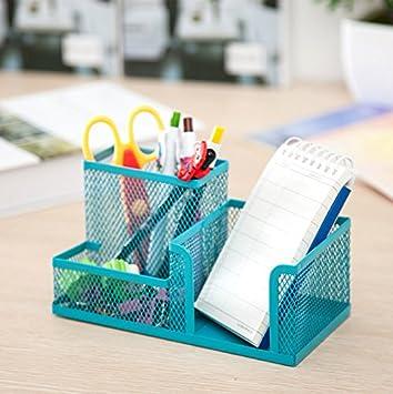 Mirayen Tischorganizer Buro Stiftehalter Metall Schreibtisch