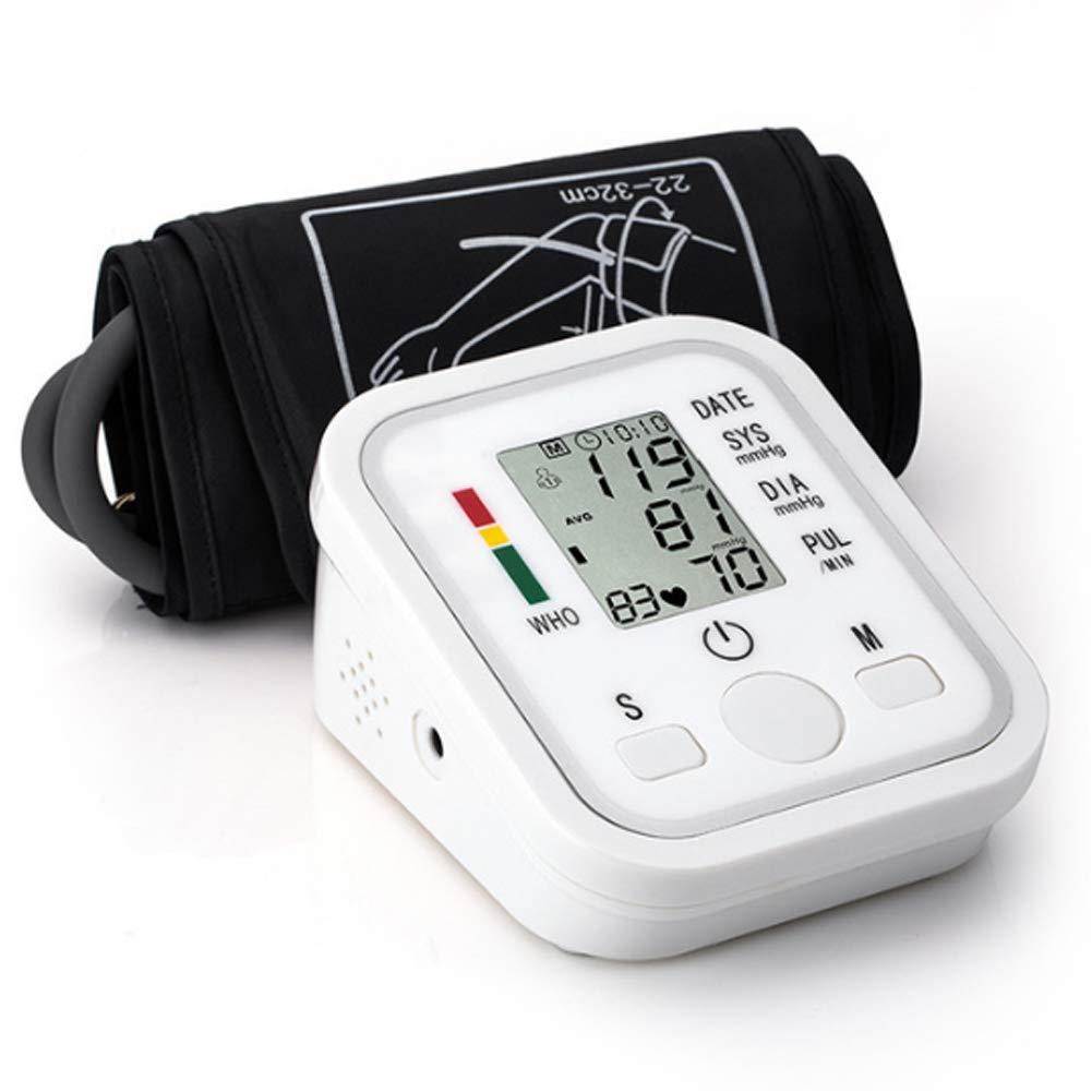 CYL Tipo del Brazo Superior tensiómetro, Pantalla Grande del LCD, difusión Inglesa de la Voz, médico casero (Necesidad de Comprar la batería Usted Mismo): ...