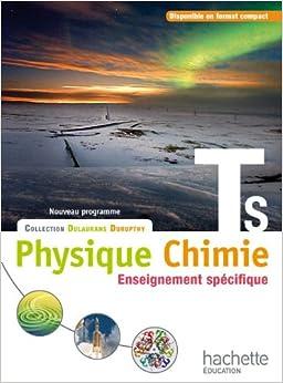 Ebooks Physique-chimie T S Spécifique - Livre élève Format Compact - Edition 2012 Descargar PDF