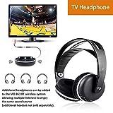 Wireless Universal TV Headphones, Monodeal...