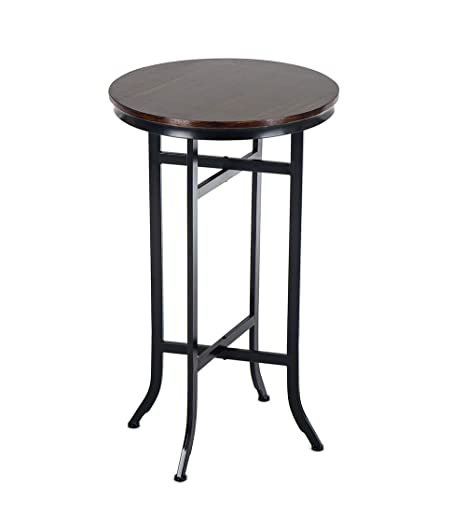 Amazon.com: Bar Bistro Cocktail Pedestal Mesas para Cocina ...