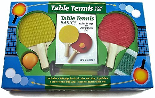 Table Tennis Book and Kit by Mud Puddle