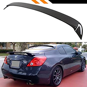 Cuztom Tuning FOR 2007 2013 NISSAN ALTIMA 2 DOOR COUPE JDM CARBON FIBER  REAR WINDOW ROOF SPOILER WING