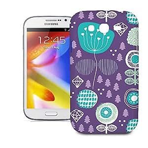 Phone Case For Samsung Galaxy Grand i9082 - Winter Garden Purple Designer Cover