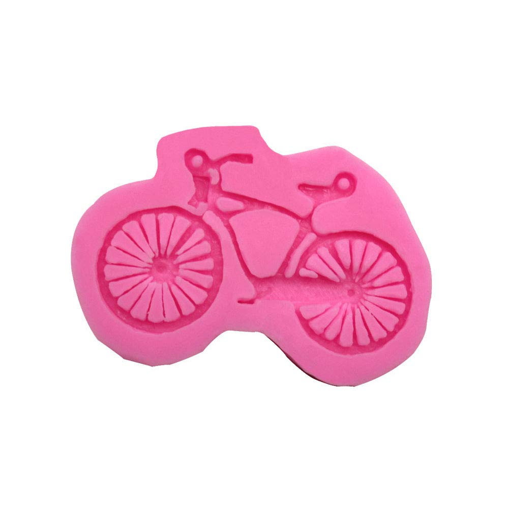Bicycle Shape Chocolate Mold Liquid Silicone Cake Mold Fondant Cake Mold Home Kitchen Cooking Gadgets Aszune